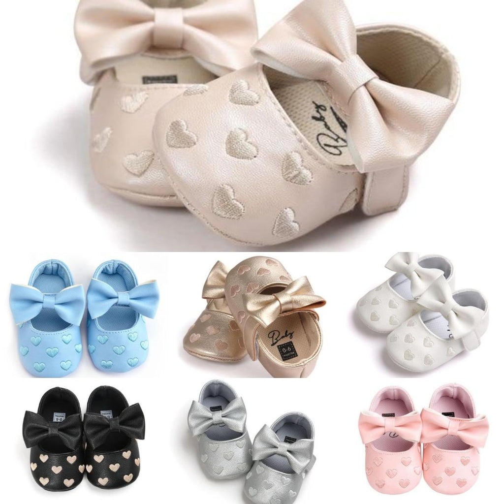 Baby Girl Moccasins by frugalbabies.com