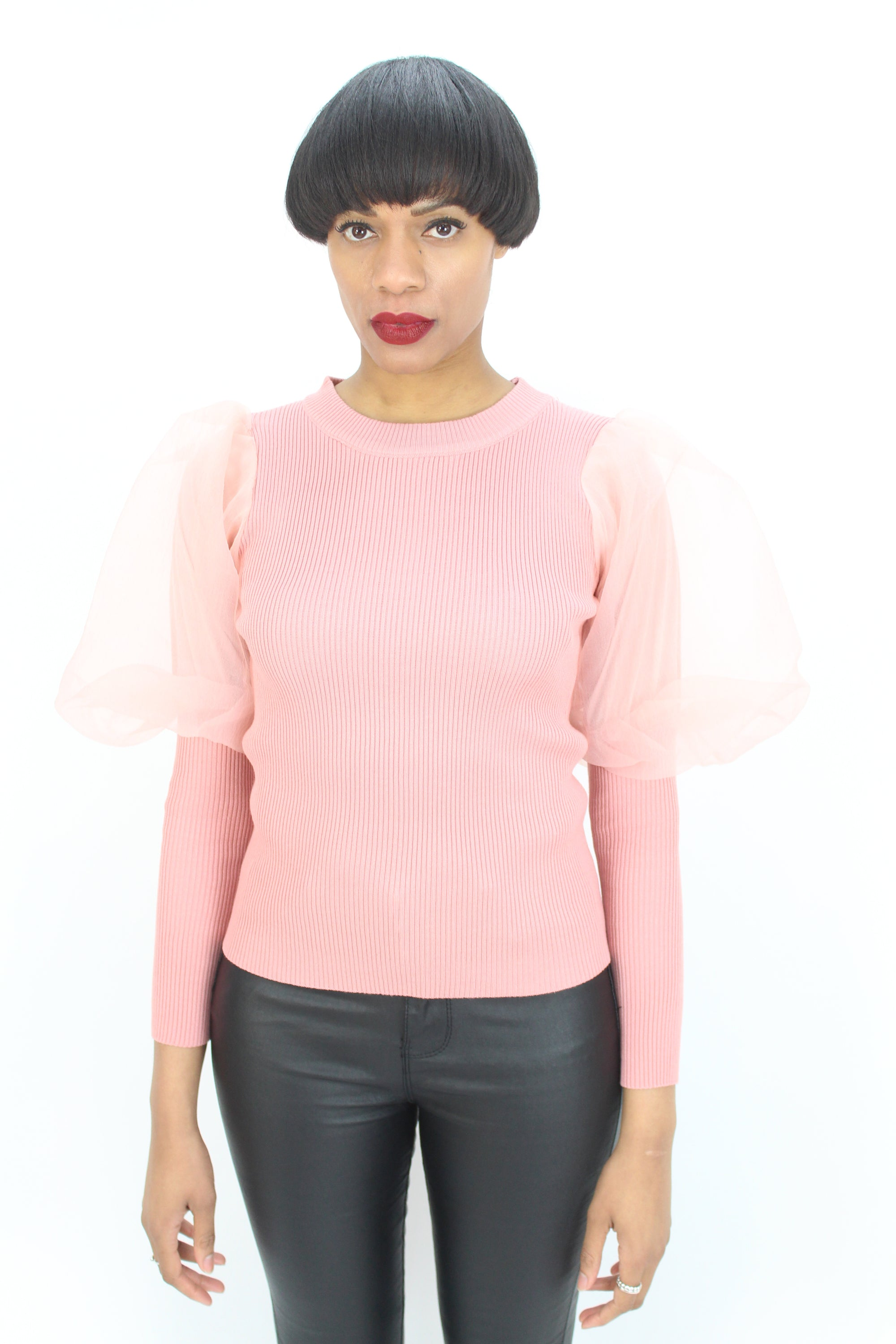 Misha Puff Sleeve Top