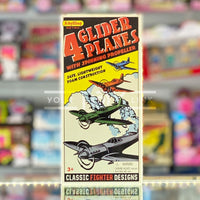 Schylling Retro x4 Glider Planes with Spinning Propellers 019649234042