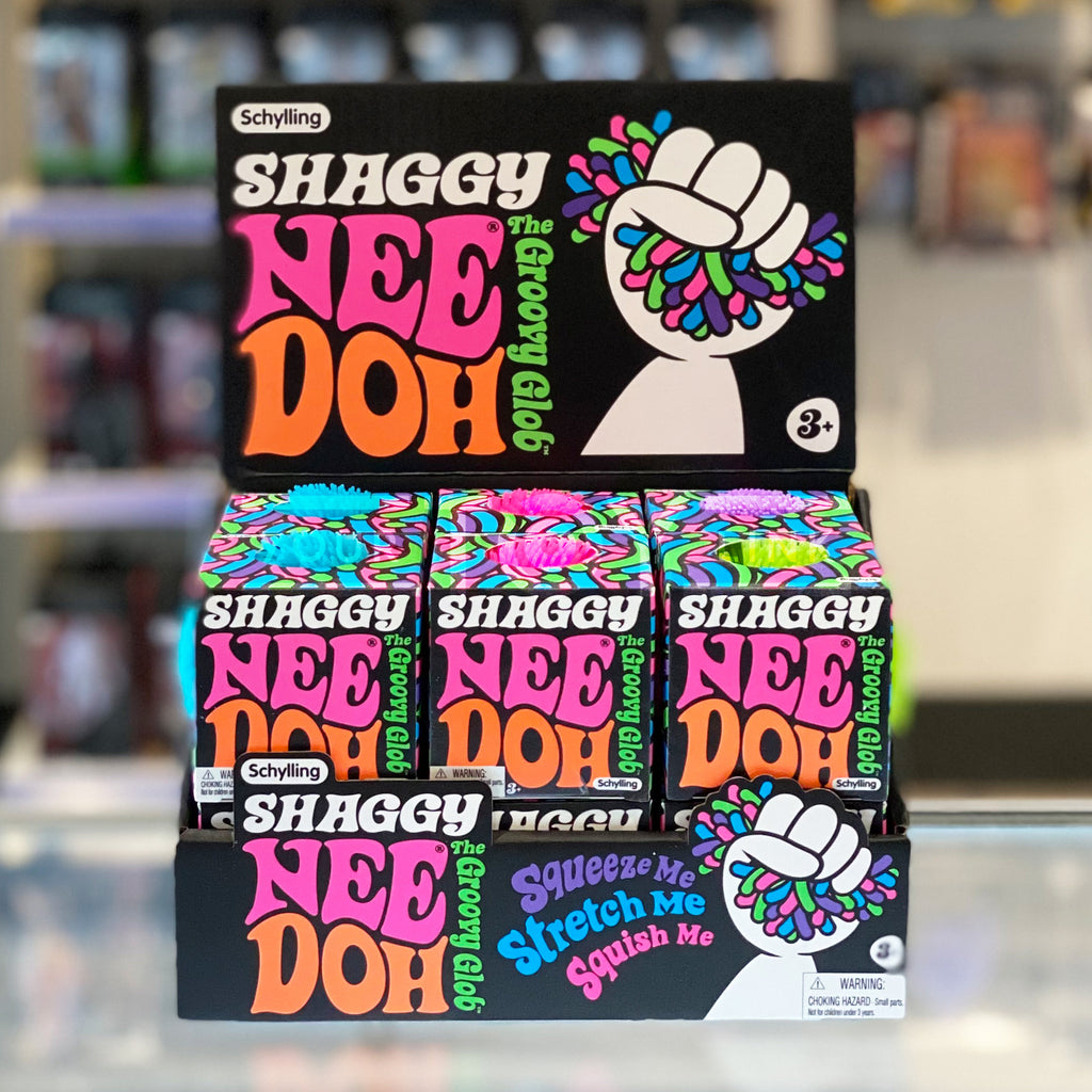 Schylling The Groovy Shaggy Glob Nee Doh Stress Ball 019649234226