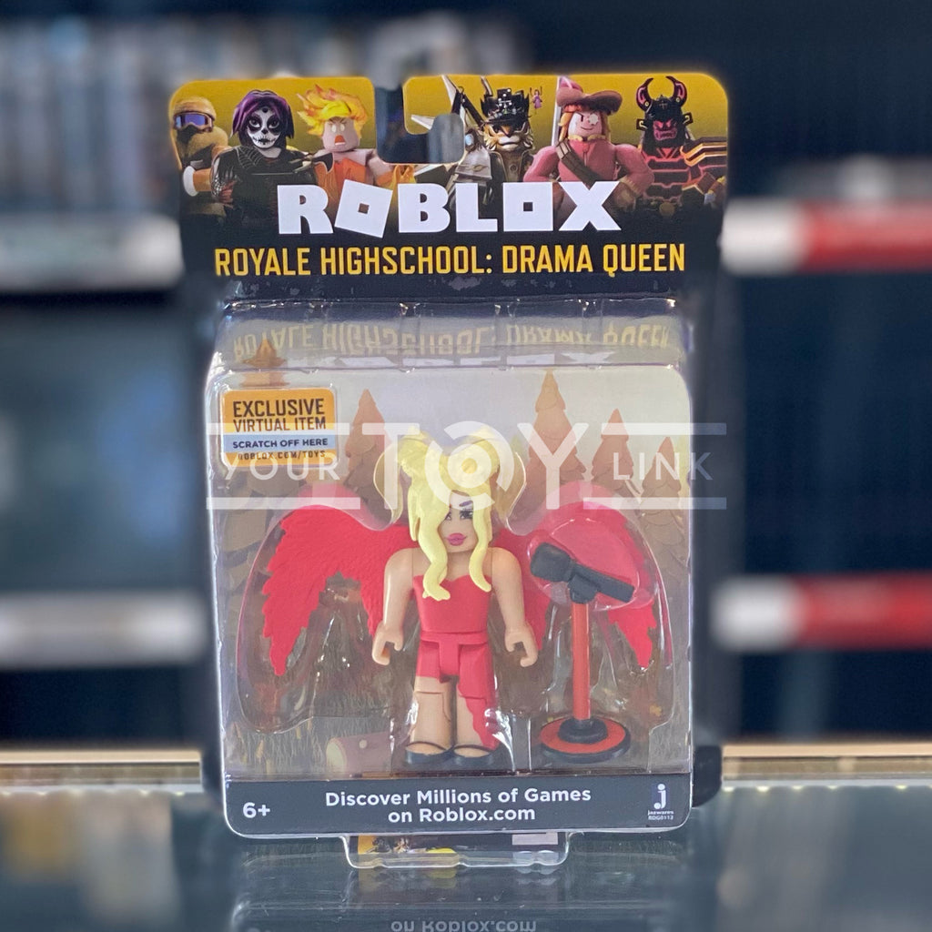 Jazwares Roblox Royale High School Drama Queen Celebrity Core Action Figure 191726004394 a