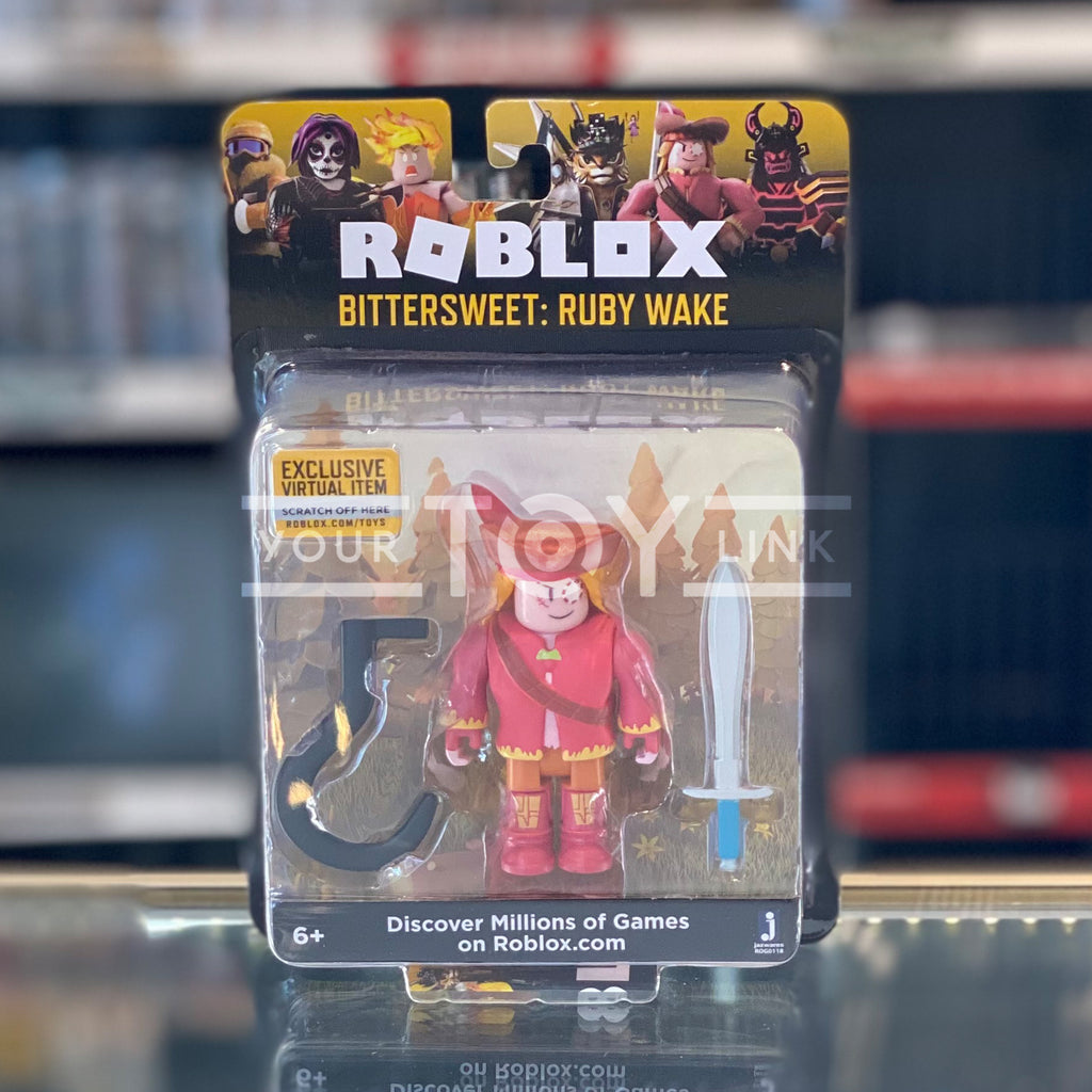 Jazwares Roblox Bittersweet Ruby Wake Celebrity Core Action Figure 191726004455 a