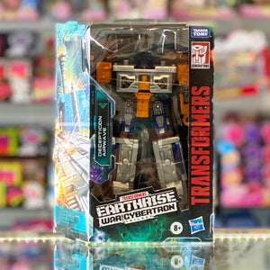 Hasbro Transformers Earthrise War For Cybertron Trilogy Netflix Series Decepticon Airwave WFC-E18 Deluxe Action Figure 5010993648627