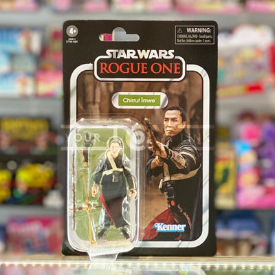 Hasbro Star Wars The Vintage Collection TVC Rogue One Chirrut Imwe Action Figure 5010993749539