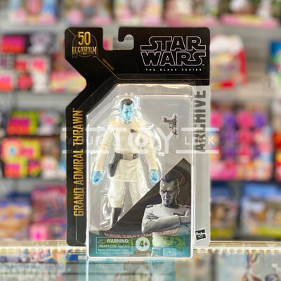 Hasbro Star Wars The Black Series 6 inch Archive Series Grand Admiral Thrawn Action Figure 5010993813407