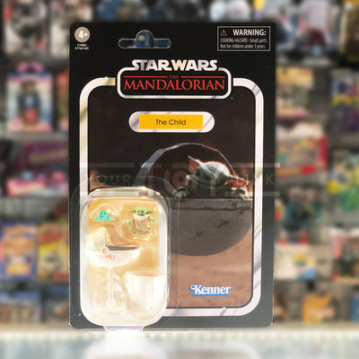 Hasbro Disney+ Star Wars The Vintage Collection TVC The Mandalorian Baby Yoda The Child Grogu Action Figure 5010993834310