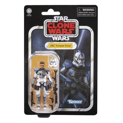 Hasbro Star Wars The Clone Wars The Vintage Collection TVC 3.75 in Arc Clone Trooper Echo Action Figure 5010993834396 a