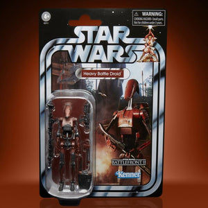 Hasbro Star Wars Battlefront 2 Gaming Greats The Vintage Collection TVC 3.75 in Heavy Battle Droid Action Figure 5010993866908 a