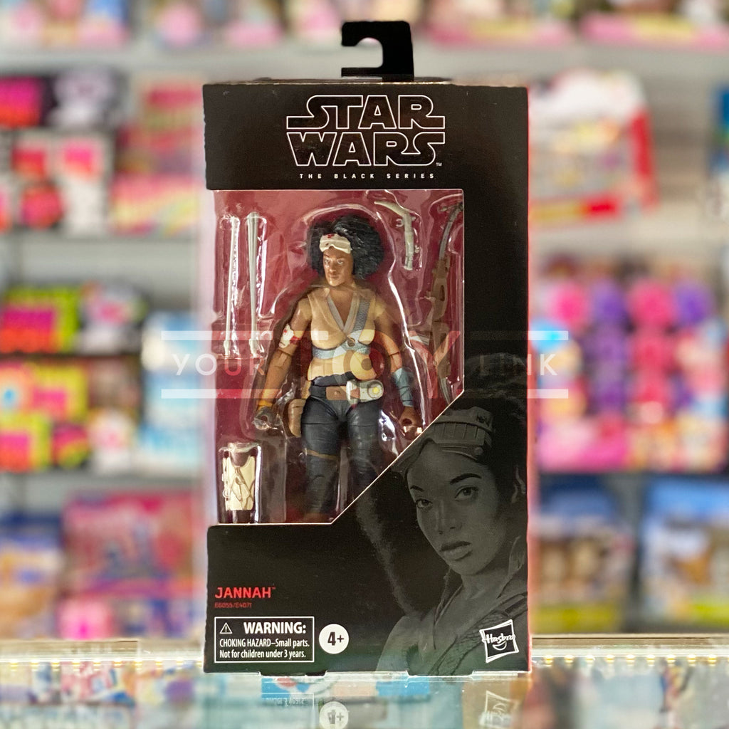 Hasbro Star Wars The Black Series The Rise Of Skywalker Jannah Action Figure 630509876549