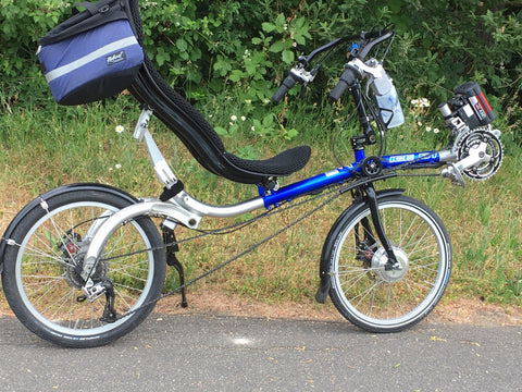 Electric converted Recumbent
