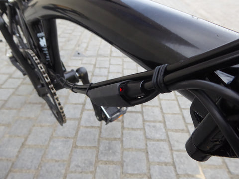Brompton with e2-pod brake switch