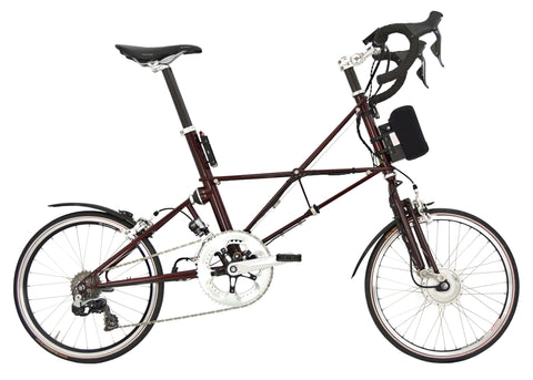 Burgundy ARCC Moulton® TSR Electric