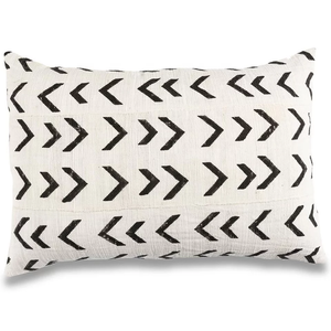 Arrow Print Mudcloth Pillow Covers