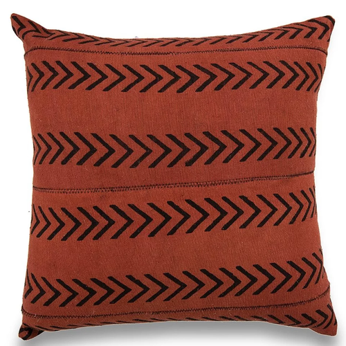 Brown Arrow Design  Mudcloth Pillow Covers