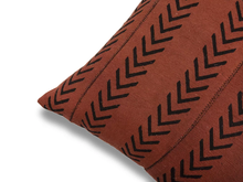 Load image into Gallery viewer, Brown Arrow Design  Mudcloth Pillow Covers