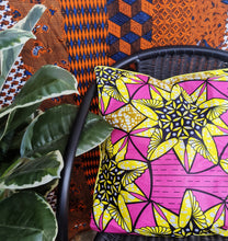 Load image into Gallery viewer, African Wax Print Pillows