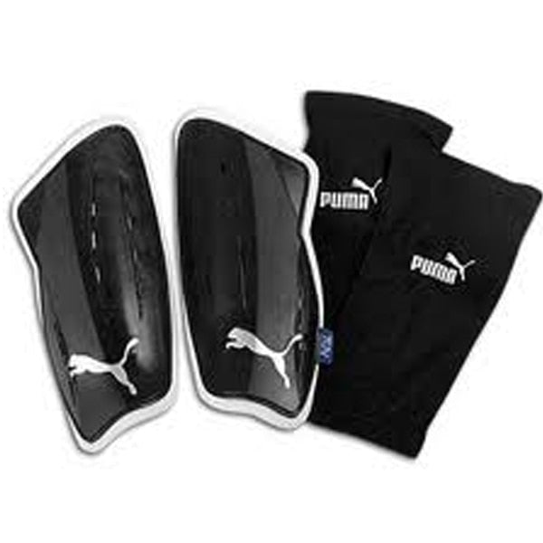 PUMA V3.08 Slip NOCSAE Shin Guards Black/White