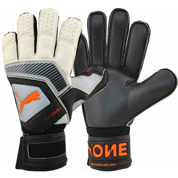 PUMA Men's Goalkeeper One Protect 2 RC Gloves Silver/Black