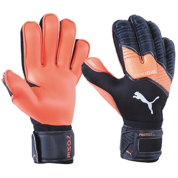 PUMA Men's One Protect 2 RC Goalkeeper Gloves Black/Energy Red/White