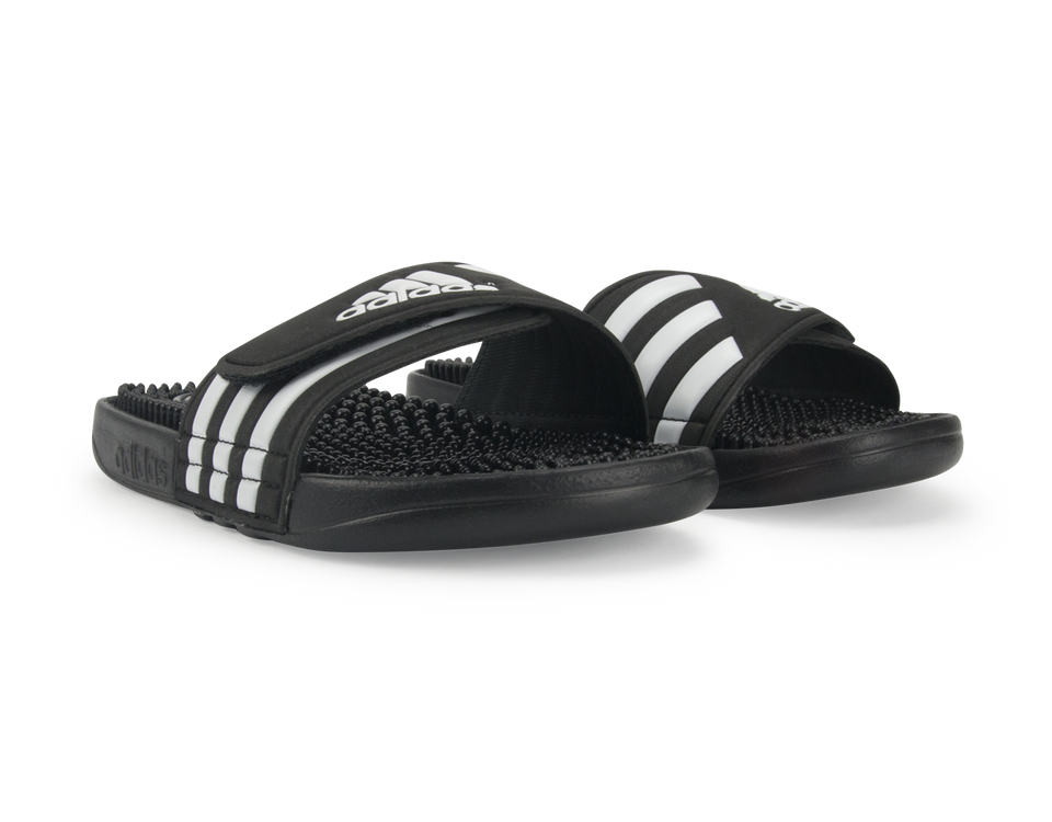 adidas Kids Adissage Sandals Black/Running White/Black