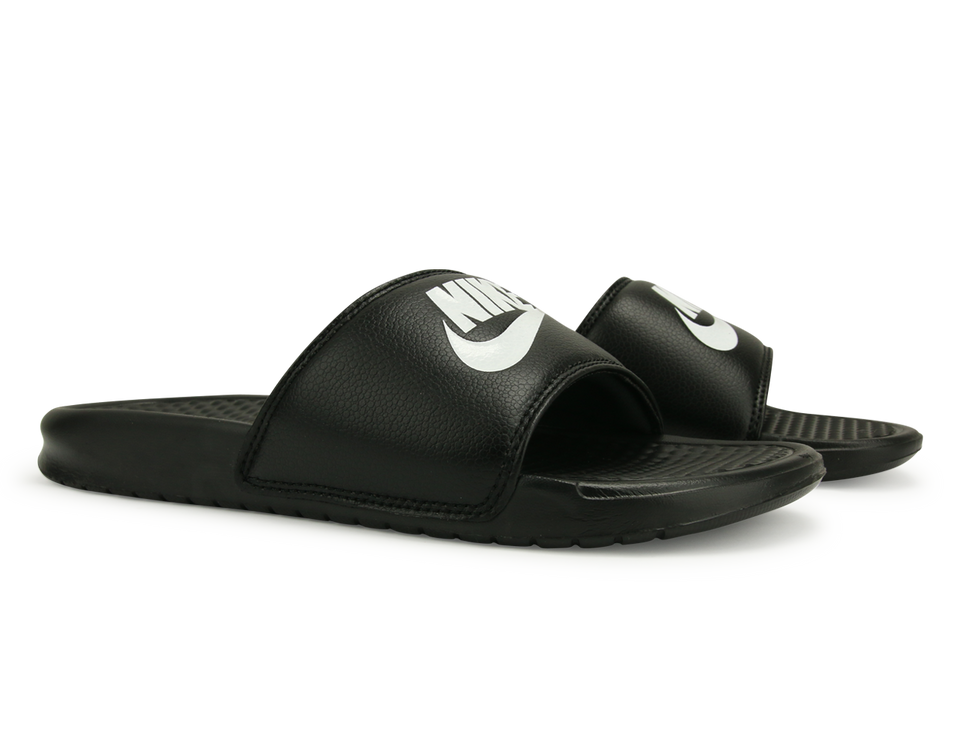 Nike Men's Benassi JDI Sandal Black/White