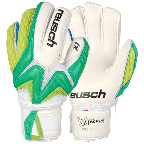 Reusch GoalKeeper Waorani Pro X1 Ortho-Tec Gloves Irish Green/Lime Punch