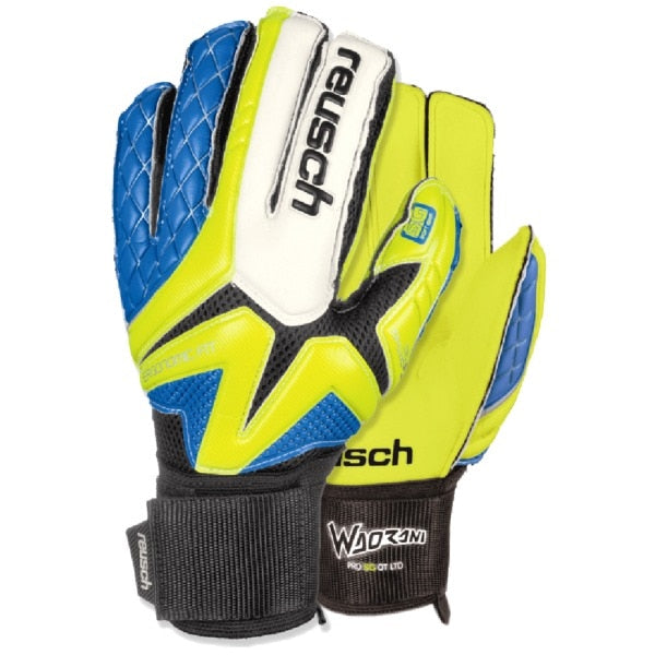 Reusch Men's Goalkeeper  Waorani SG Ortho-Tec Gloves Volt