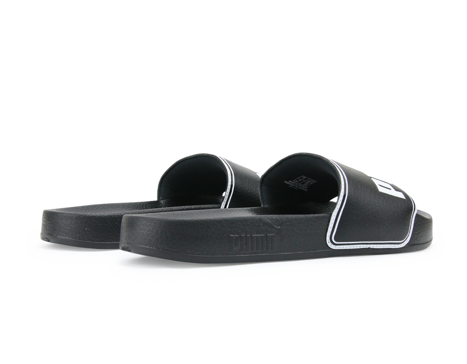 PUMA Men's LeadCat Sandals Black/White