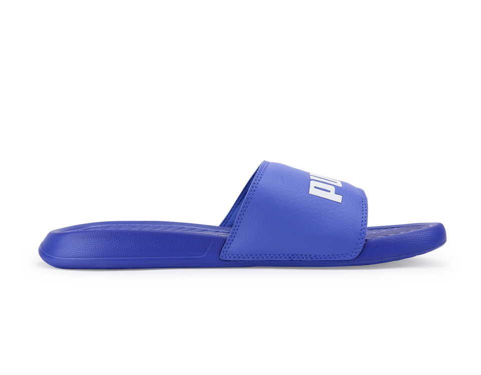 PUMA Men's PopCat Sandals Dazzling Blue/White