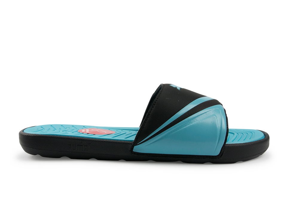PUMA Men's StarCat Pro Sandals Black/Atomic Blue