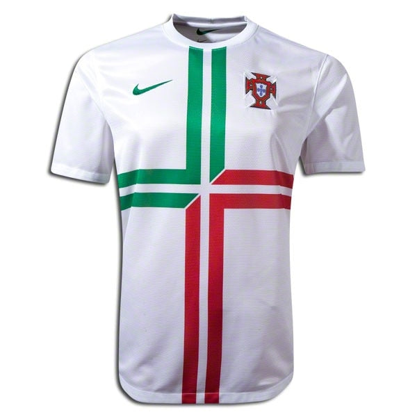 Nike Men's Portugal 12/13 Away Jersey White/Pine