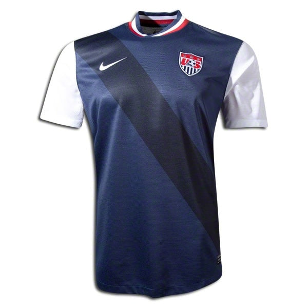 Nike Youth USA 12/13 Away Jersey Navy/White