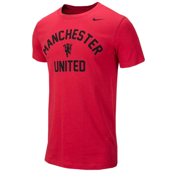 Nike Men's Manchester United Arched Tee Red/Black