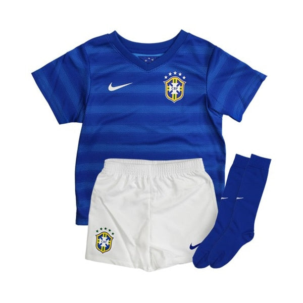 Nike Infants Brazil 14/15 Away Kit Varsity Royal/Football White