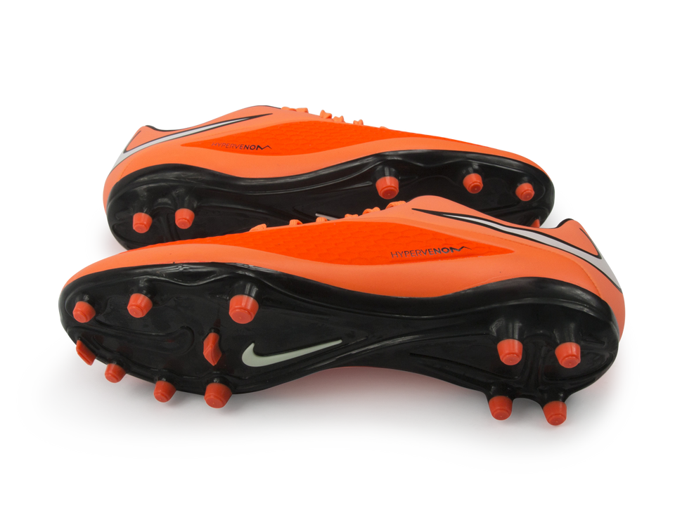 Nike Men's Hypervenom Phelon FG Hyper Crimson/White/Atomic Orange