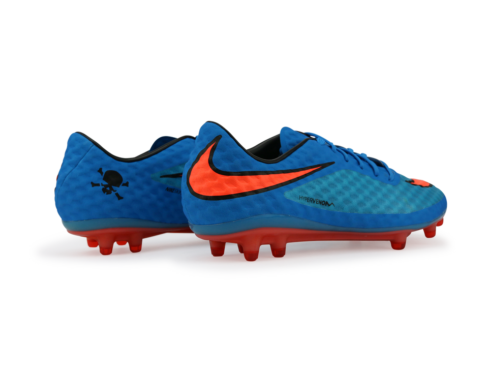 Nike Men's Hypervenom Phantom FG Clearwater/Total Crimson/Black