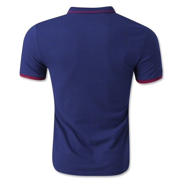 Nike Men's FC Barcelona League Polo Loyal Blue