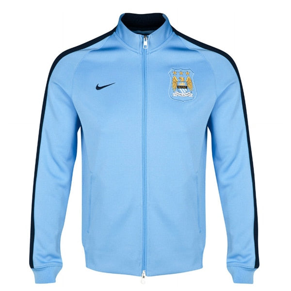 Nike Men's Manchester City 14/15 N98 Jacket Field Blue/Obsidian/Obsidian
