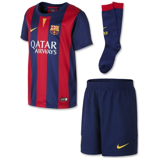 Nike Toddlers FC Barcelona 14/15 Home Kit Loyal Blue/Sunlight