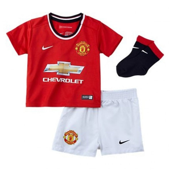 Nike Infants Manchester United 14/15 Home Mini Kit High Risk Red/White