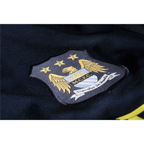 Nike Men's Manchester City 14/15 Away Soccer Jersey Dark Obsidian/Game Royal/Vibrant Yellow