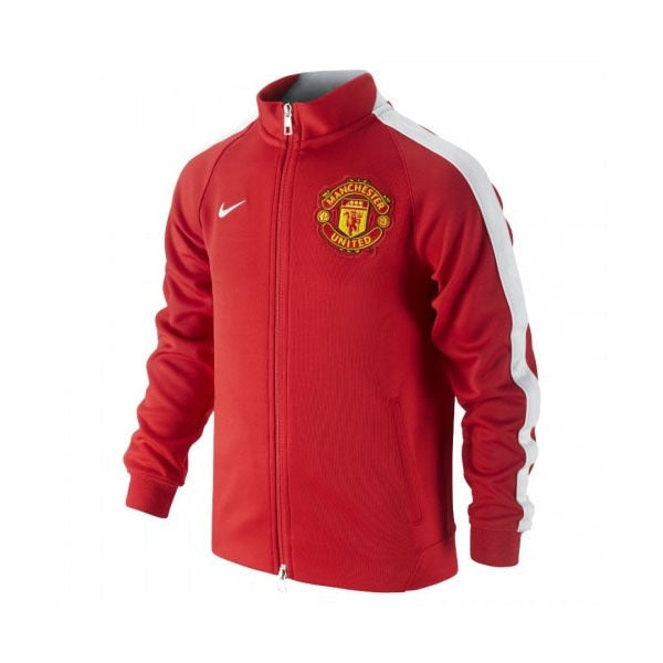 Nike Kids Manchester United Authentic N98 Jacket Diablo Red/Black/Football White