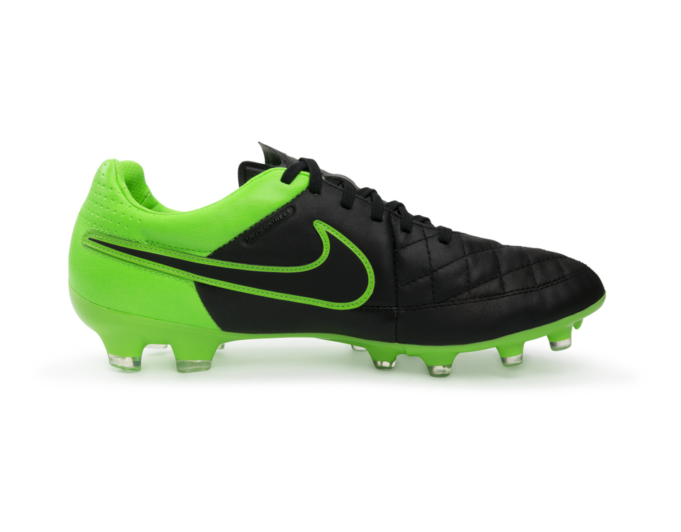 Nike Men's Tiempo Legacy FG Black/Green Strike/Black