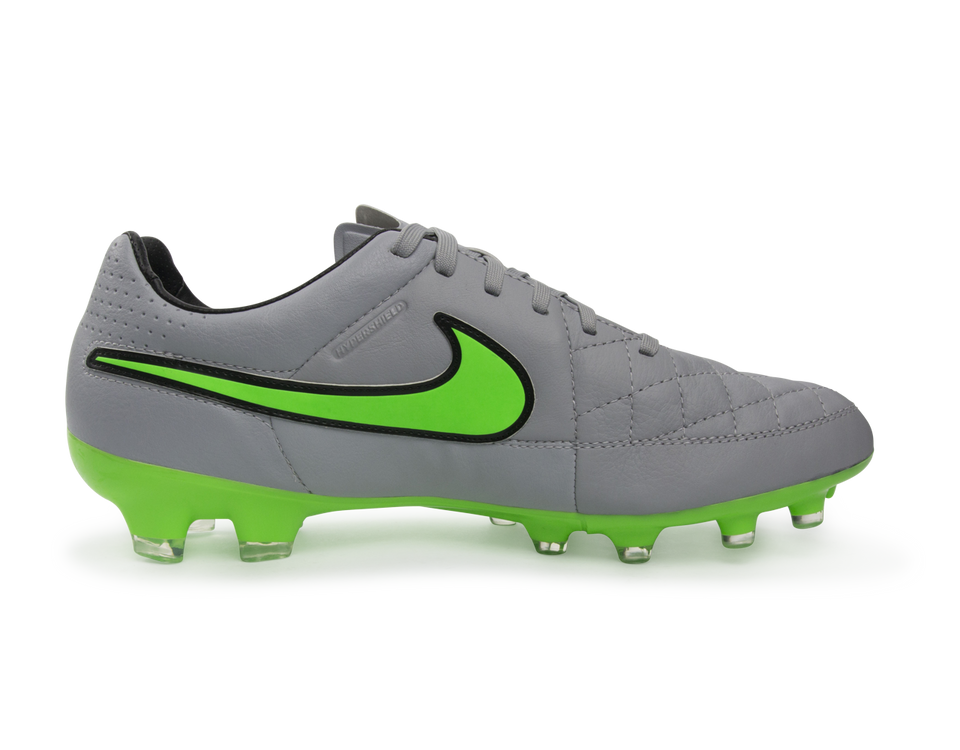 Nike Men's Tiempo Legacy FG Wolf Grey/Green Strike/Black