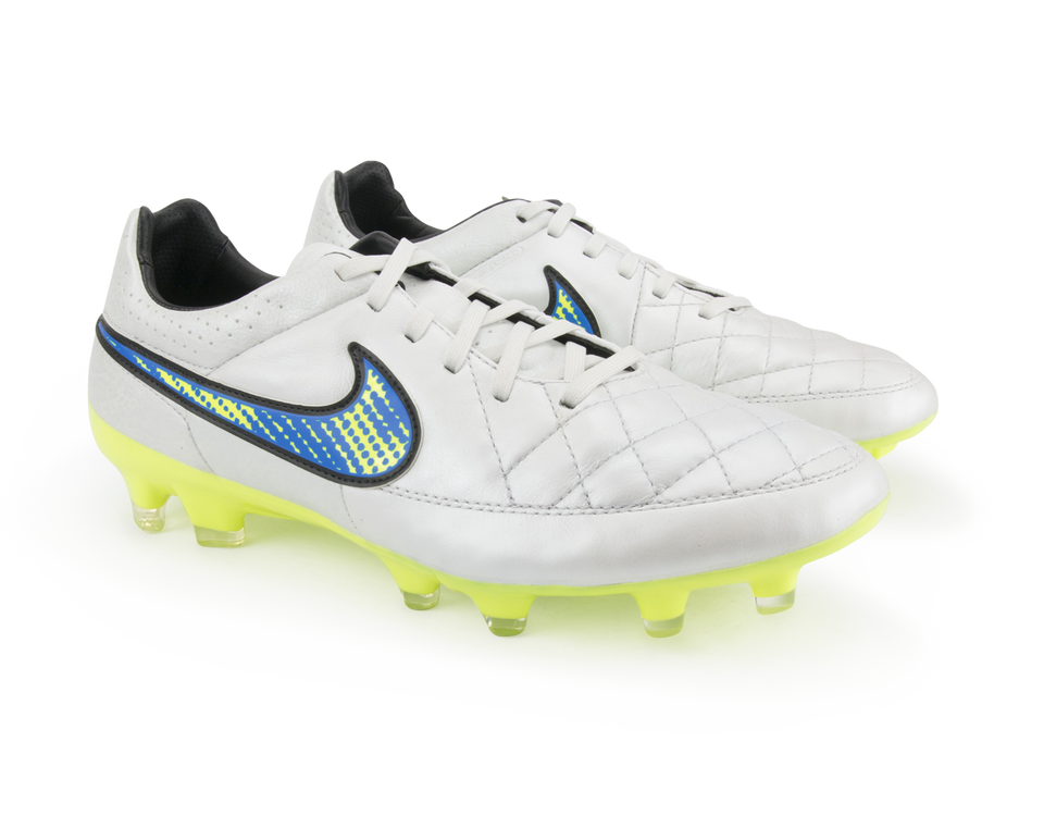 Nike Men's Tiempo Leagcy FG White/Volt/Soar