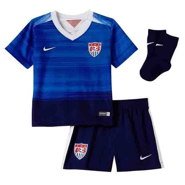 Nike Infant Unisex USA Away MiniKit 2015 Game Royal/Loyal Blue/White