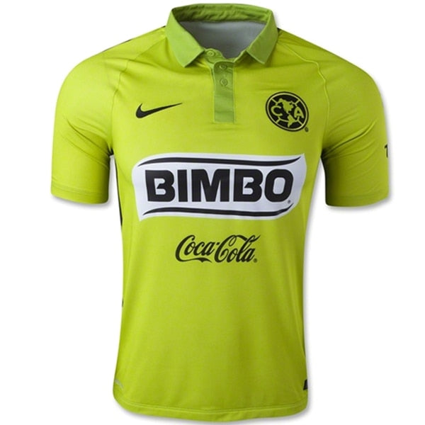 Nike Men's Club America 14/15 Third Authentic Jersey Bright Green
