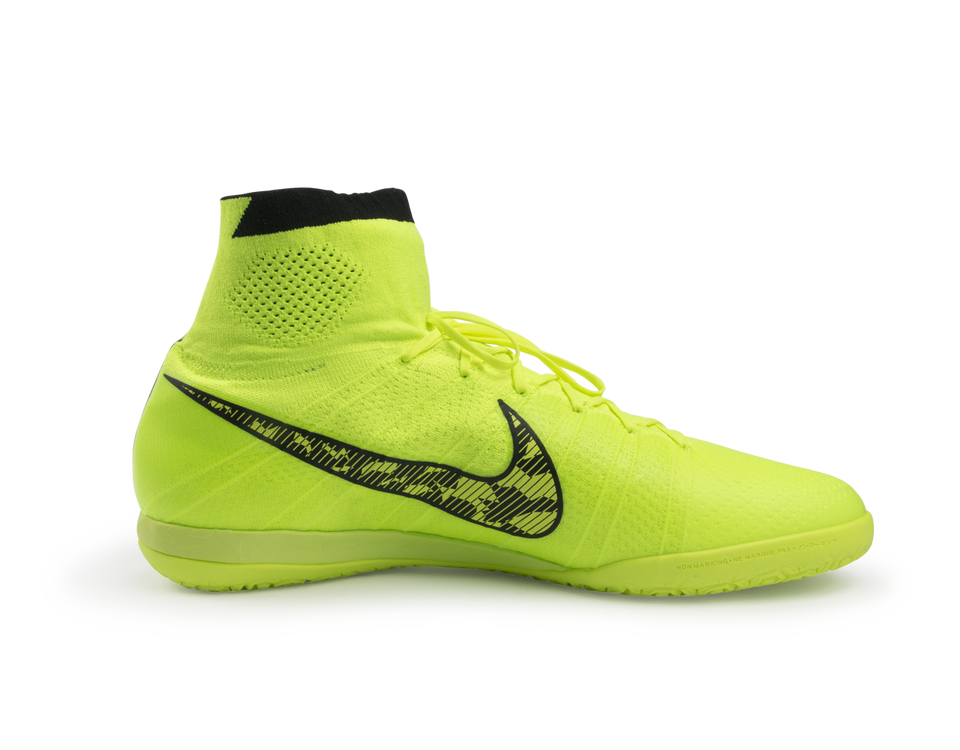 Nike Men's Elastico Superfly Indoor Soccer Shoes Volt/Black/Flash Lime