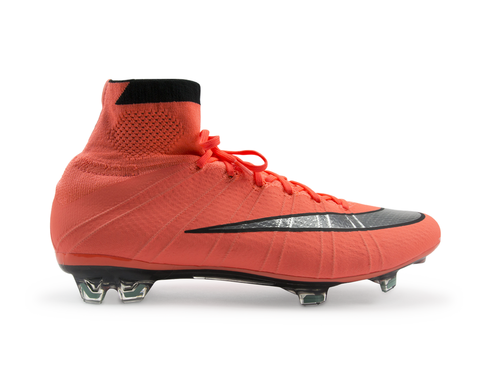 Nike Men's Mercurial Superfly FG Bright Mango/Metallic Sliver/Hyper Turqoise