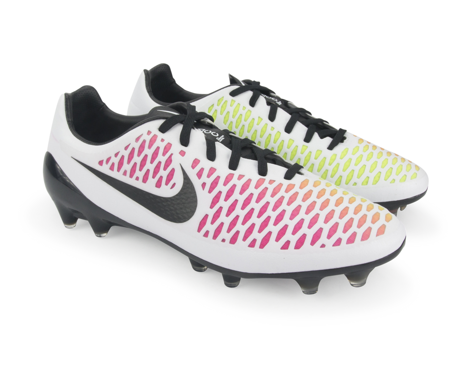 Nike Men's Magista Opus FG White/Black/Pink Blast